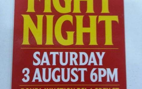 Fight night SRG