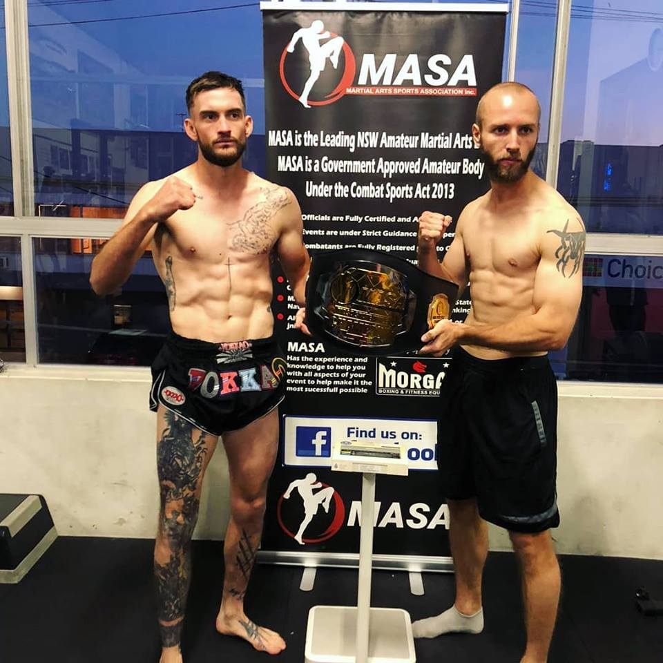 On weight and ready to represent us tonight | SRG Thai Boxing Sydney